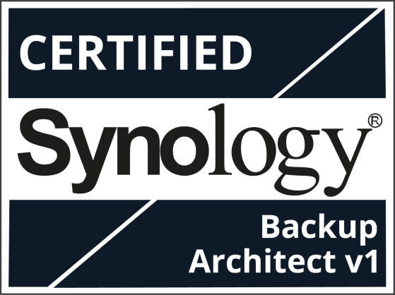 Certified Synology Backup Architect