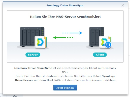 Synology drive-share-sync