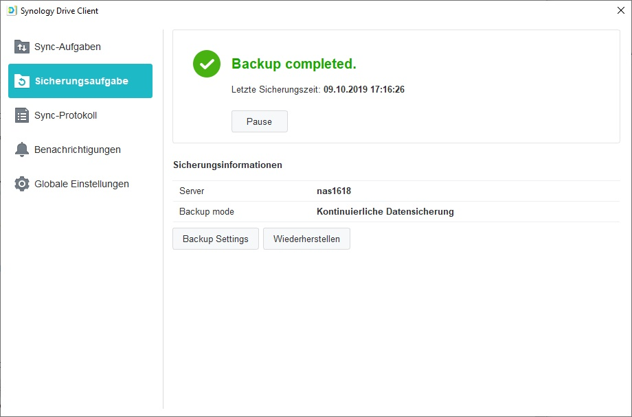 Synology drive_backup