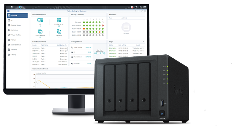 Synology Support Virtual Machine
